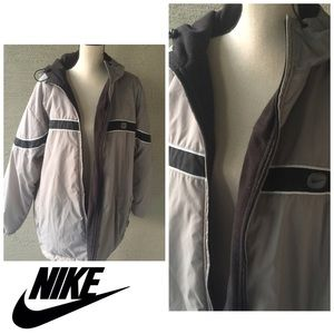 Gray Men's Nike Winter Jacket